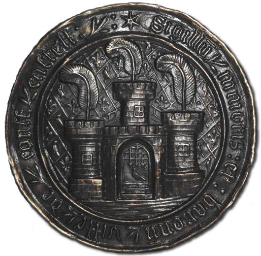 Corfe Castle Town Seal