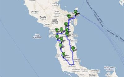 Rent a car and explore Corfu – Itinerary 5
