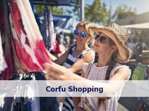 corfu shopping