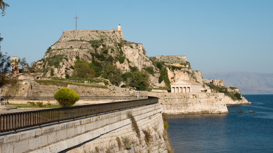 old fortress corfu fortresses