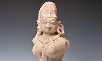 Hindu Goddess Corfu Asian Art Museum