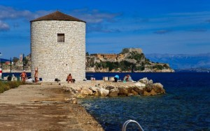 corfu town beaches anemomilos