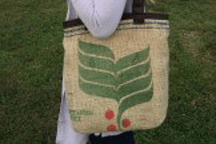 Recycled Coffee Purse