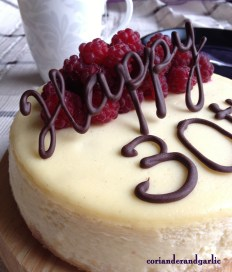 30 Rock Cheesecake