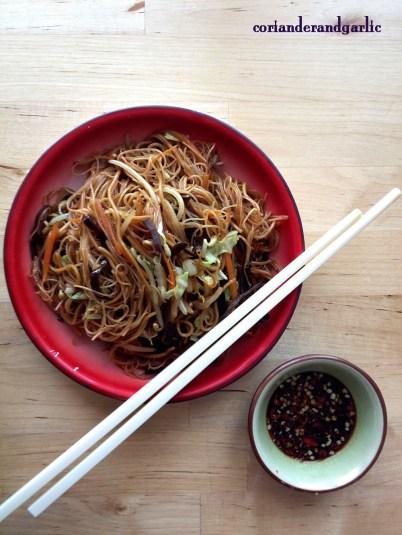 Vegetarian Fried Bee Hoon