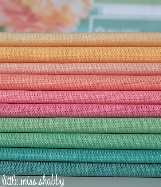 Butterscotch Moda Bella Solids Fabric