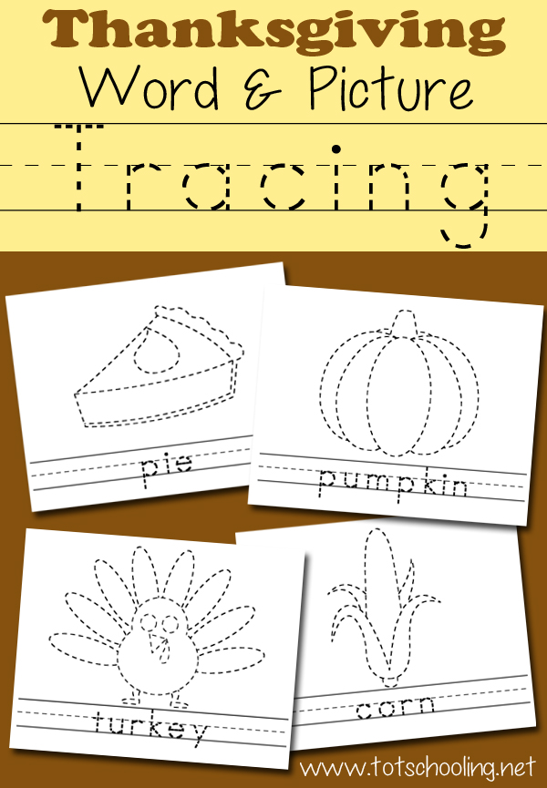 Prep PreK T Thanksgiving Activities And Printables By