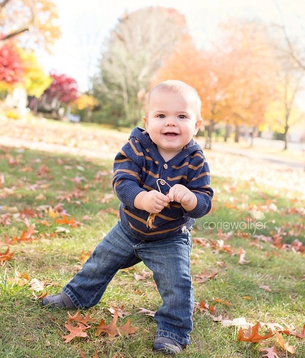 Stow Ohio 1 Year Photographer | Happy Birthday Levi