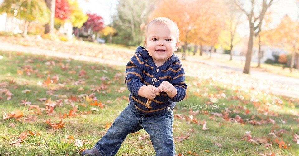 one year boy photo session
