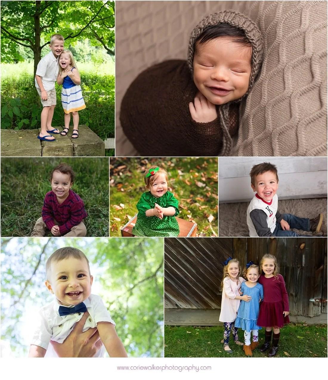 Akron Photographer Baby Smiles