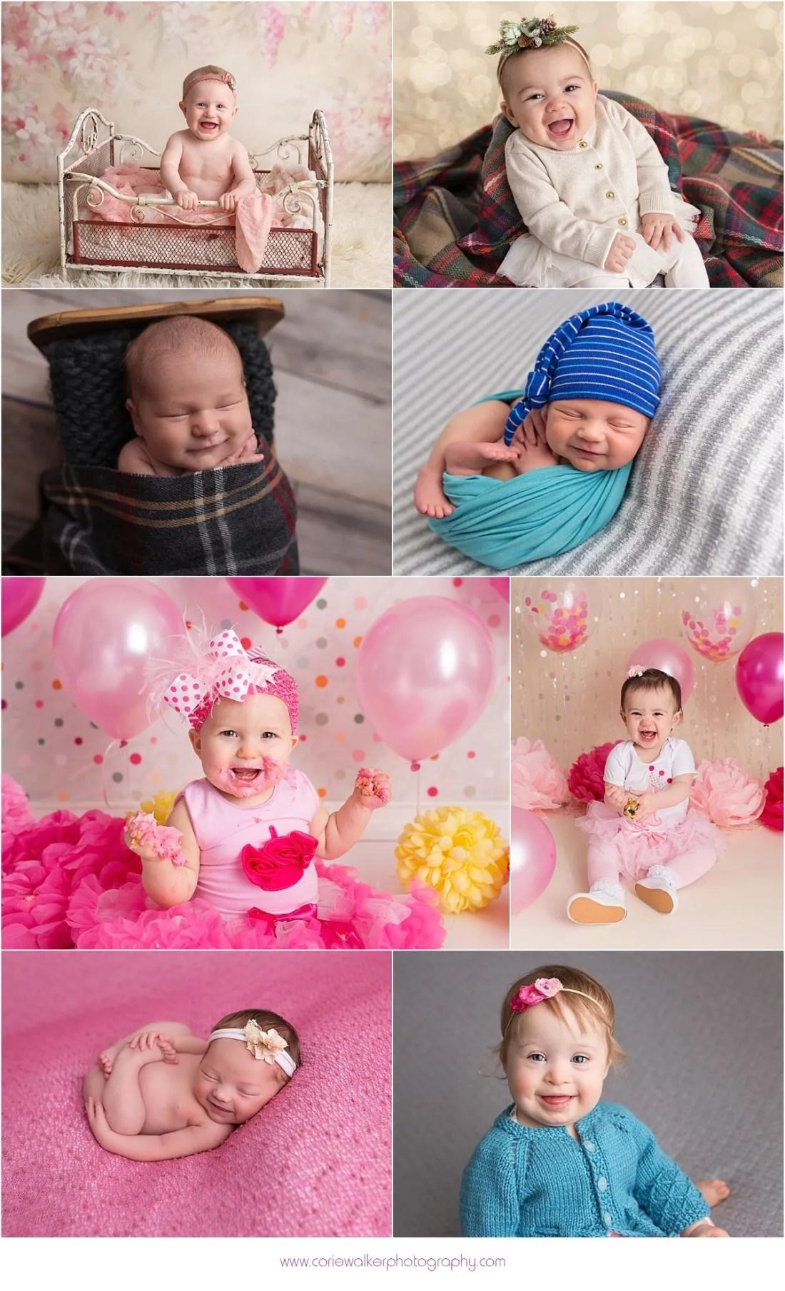 Akron Photographer 2016 Baby Smiles