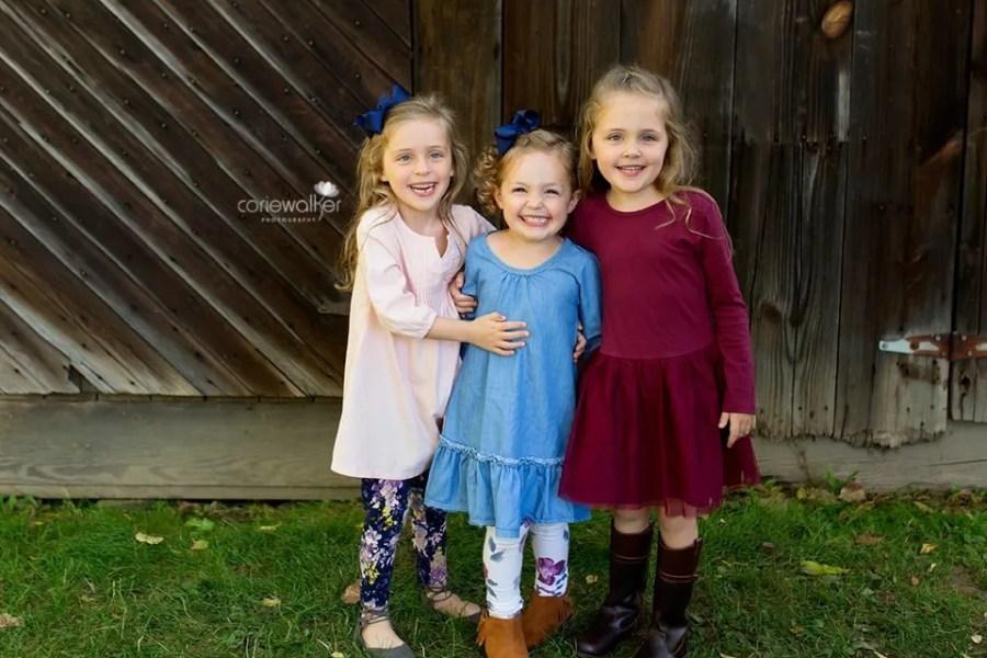 Fall Family Photo Peninsula Ohio