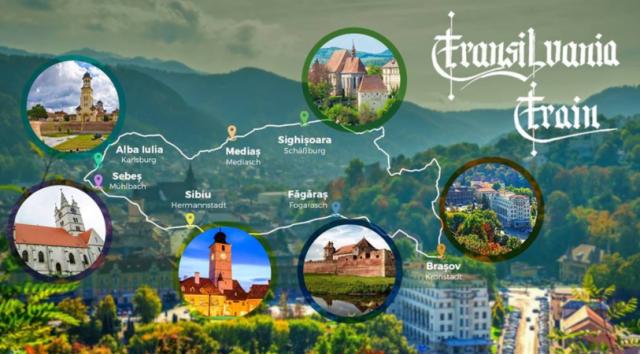Trenul care face turul Transilvaniei