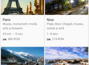 Google lansează Flights & Destinations și în România