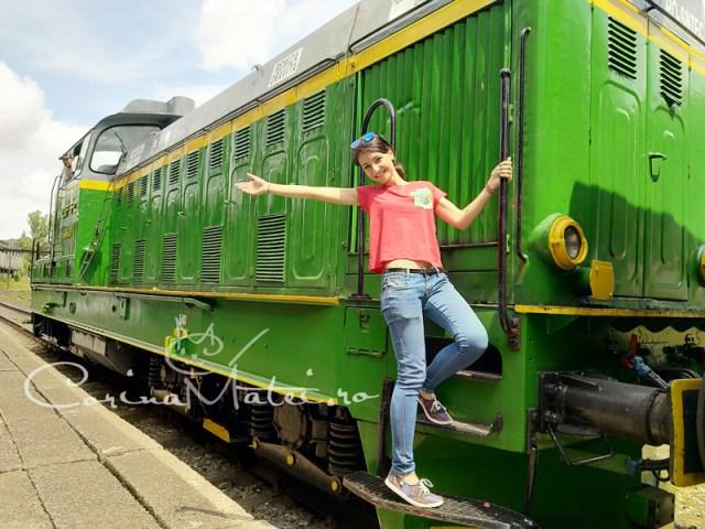 Am fost pe prima cale ferată montană din România!