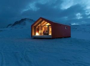 Casă în Groenlanda pentru cercetările climatice