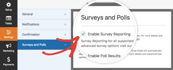 wpforms surveys and polls add-on