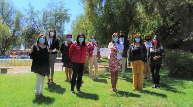 Seremi de Educación visita Liceo Bicentenario Corina Urbina Villanueva