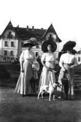 Femmes élégantes, Timişoara, 1910