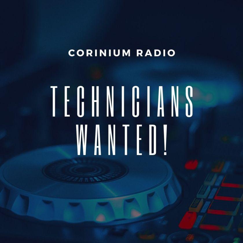 Corinium Radio technicians wanted