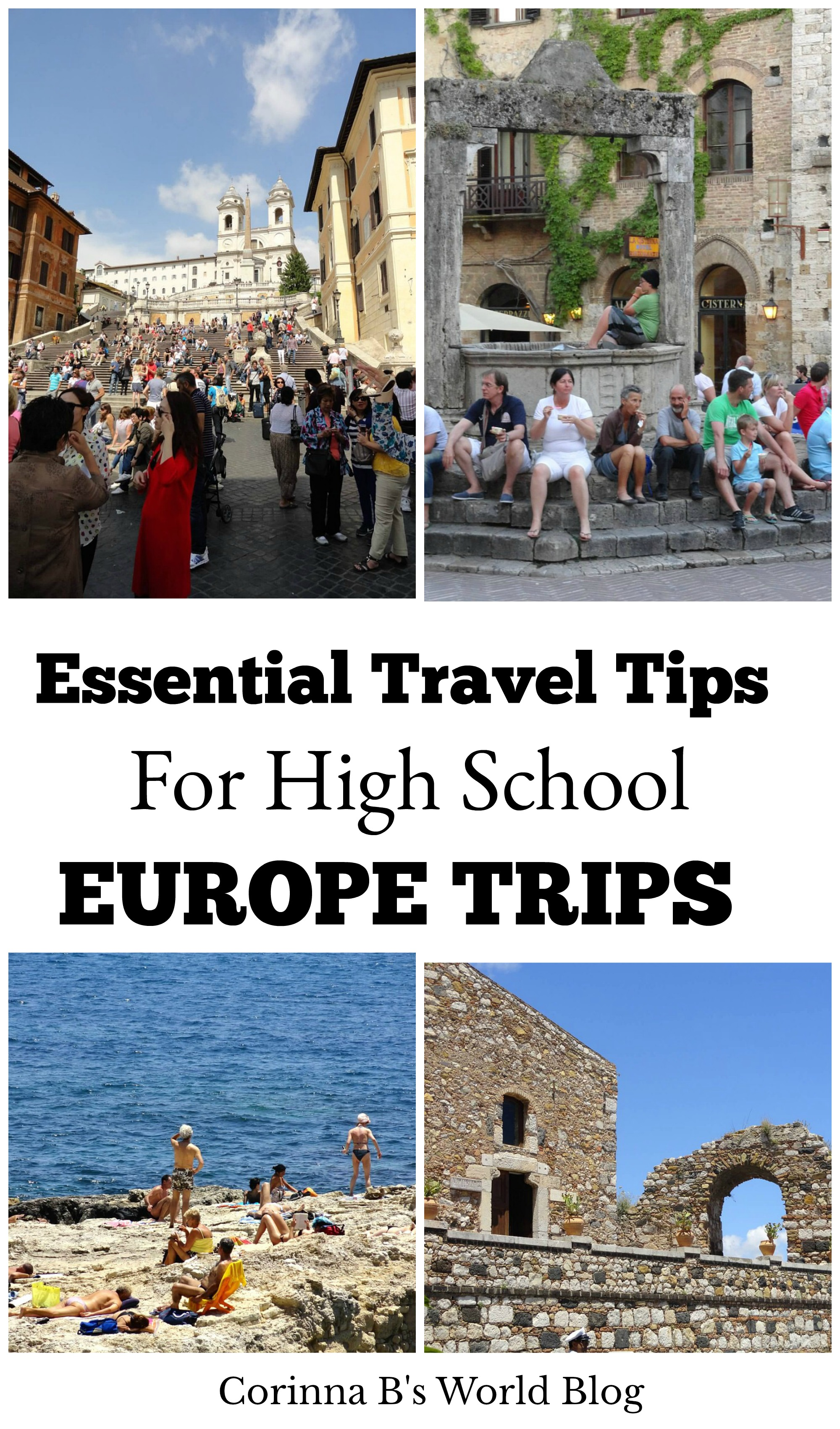 Travel Tips For School Trips To Europe