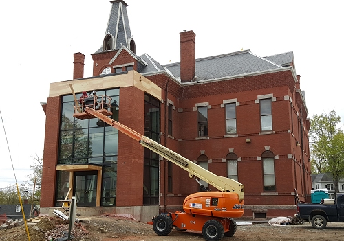 Stewart Library Building - New Addition - May 2016