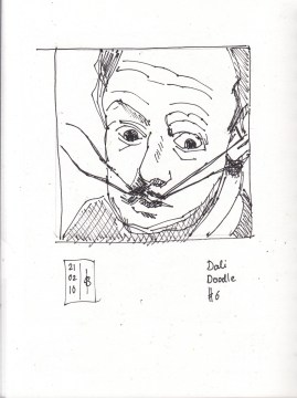 Dali drawing #6 feb21