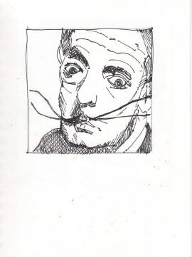 Dali drawing #7 feb21