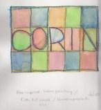 Jul25_Klee grid painting try-out KidsArtW Sonheim