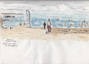 Aug2_Guidel Plage paintng