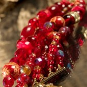 Bracelet rouge photo produit