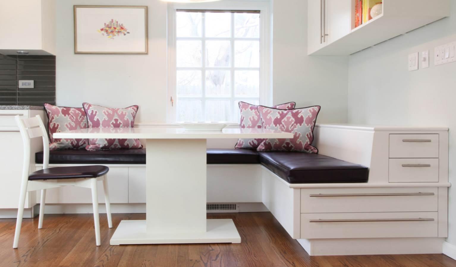 Banquette Built-In « Corinne Gail