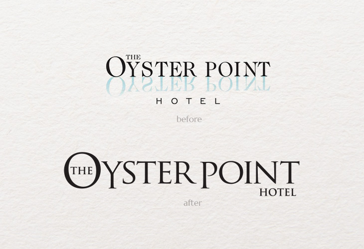 Red Bank Hotel Rebrand, Brand Style Guide, Logo Design, Color Palette, Print Design, Web Design, Before and After, New Jersey