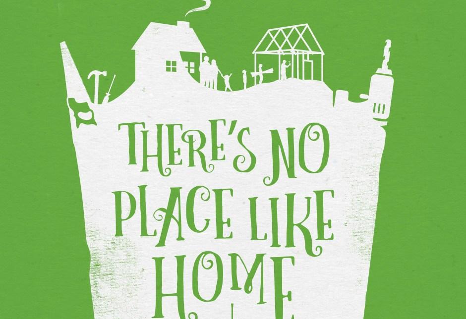 event branding, custom illustration, Wizard of Oz, No Place Like Home, Habitat for Humanity, Glinda, graphic design, event branding, infographics