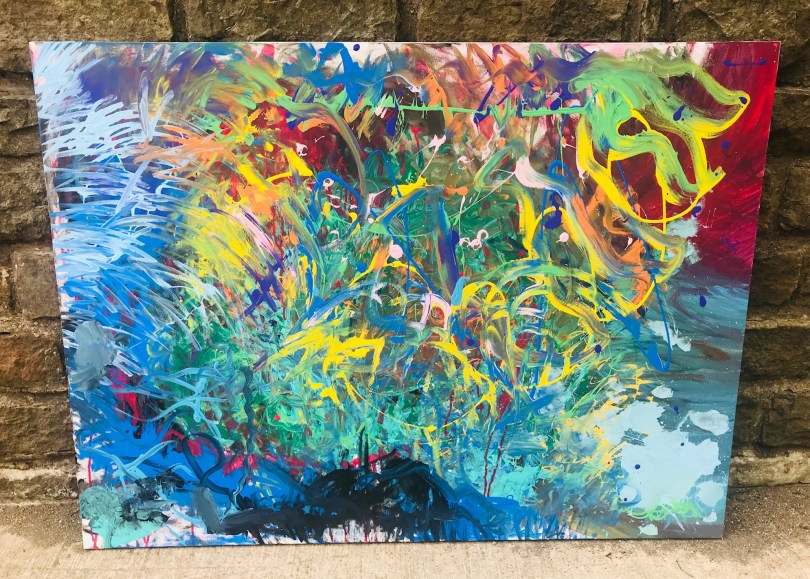 Comfort Zone Canvas Painting