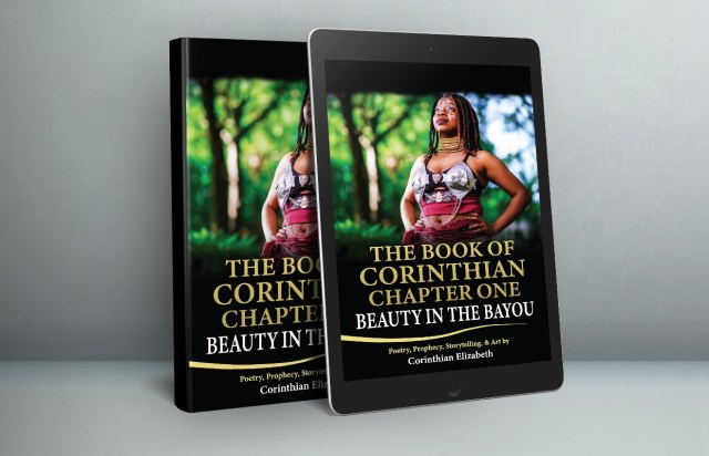Autographed Paperback Copy of Beauty in the Bayou