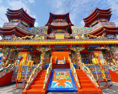 Keelung's Mid-Summer Ghost Festival