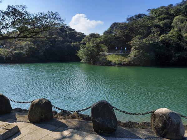 Lovers Lake Park Keelung