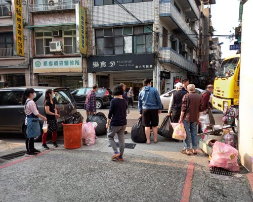 Taking out the trash in Taiwan