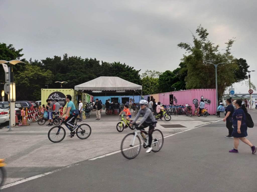 Yanping Riverside Park Bicycle Rental, 延平河濱公園