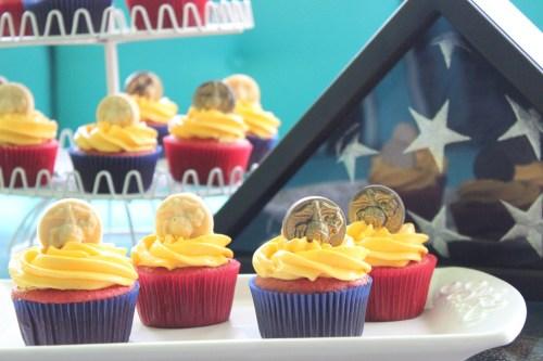 Marine Corps Birthday Cupcakes Rhubarb Cupcakes With