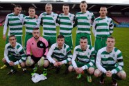 The Cloughduv Celtic team that won the Saxone Cup - 15 April 2016