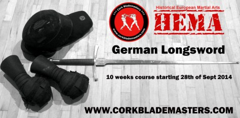 Historical Fencing Course: German Longsword