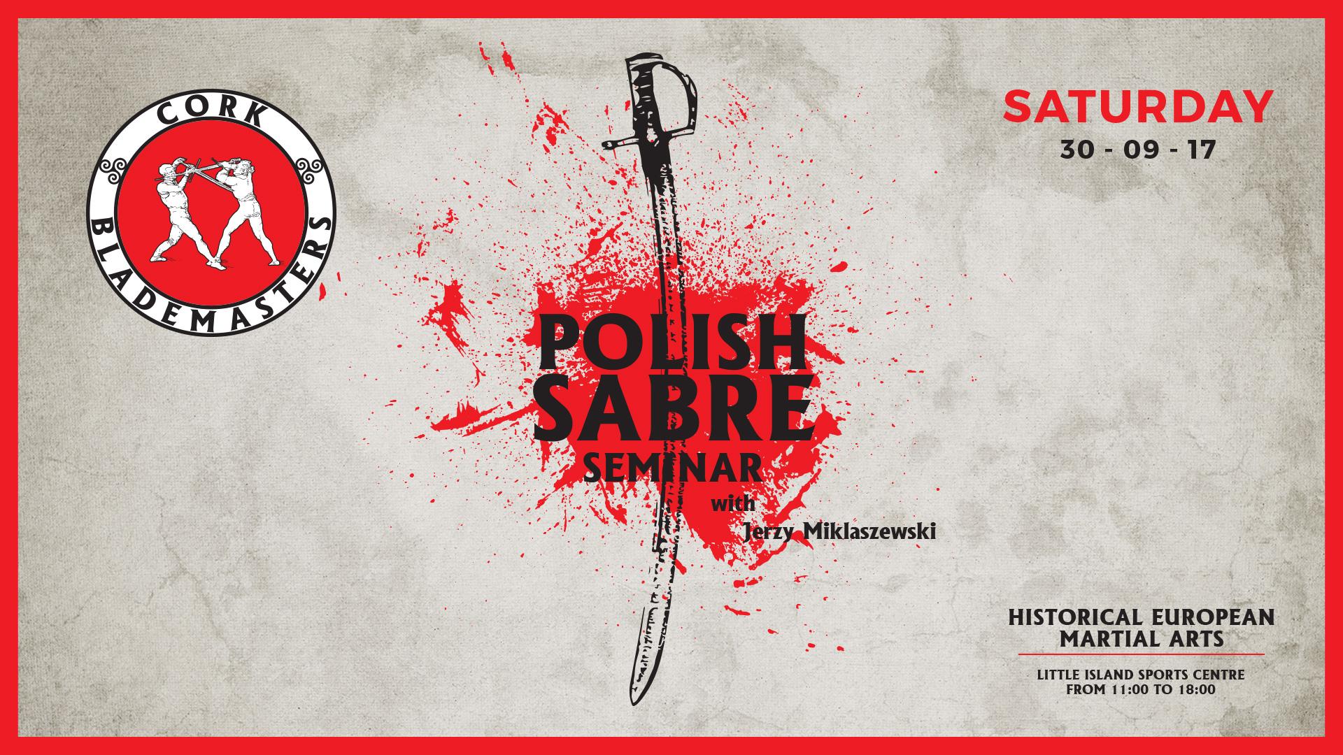 Polish Sabre Seminar this Saturday!
