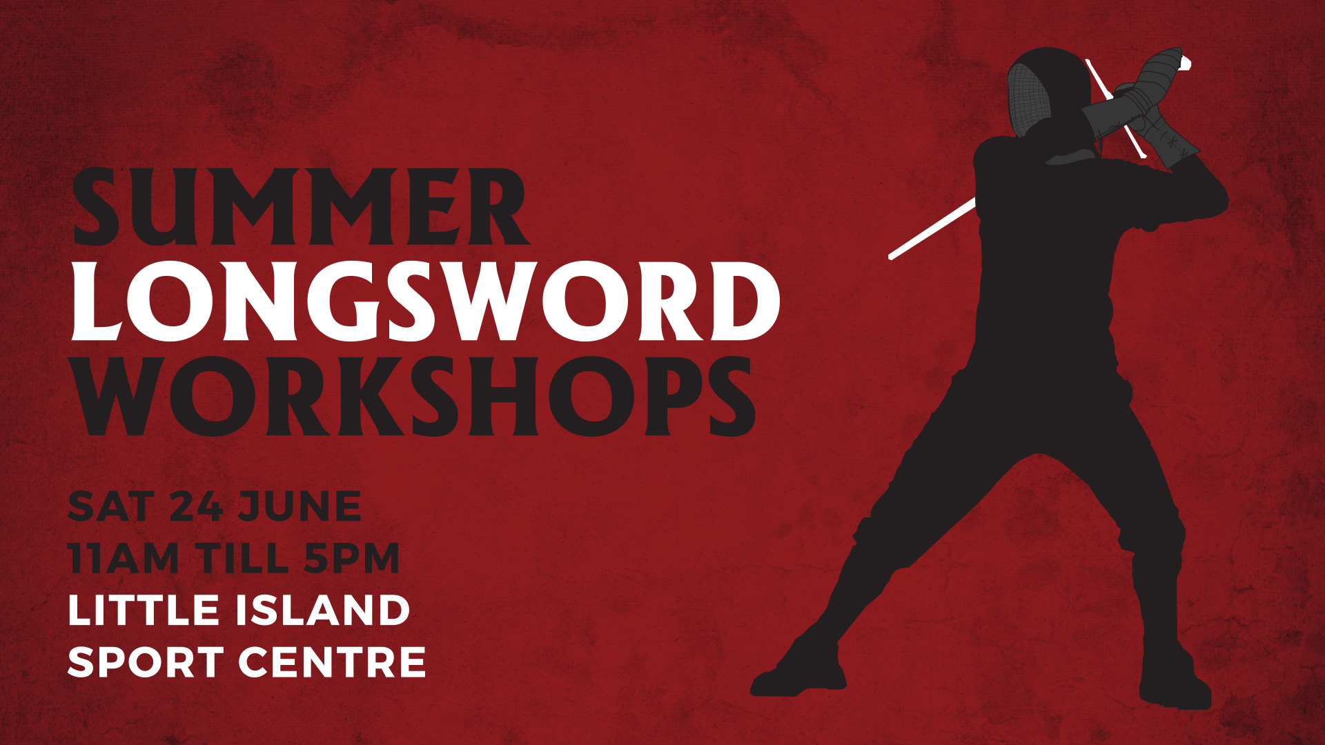 German Longsword Workshops this Saturday