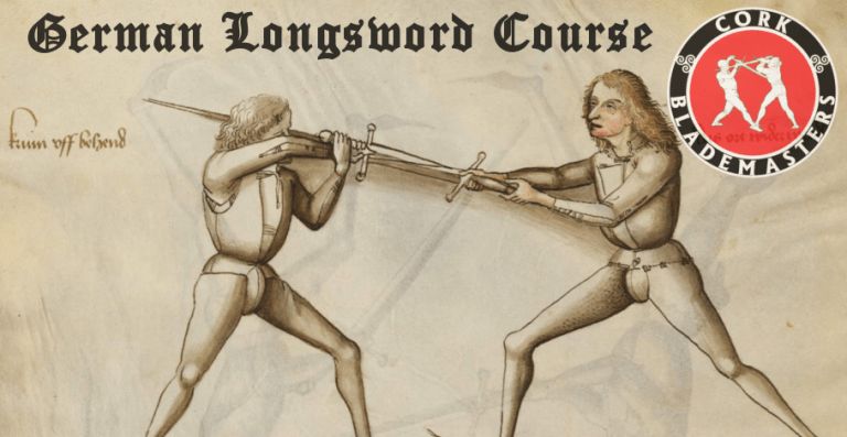 German Longsword Course 5/10 – Mon 21/05/2018