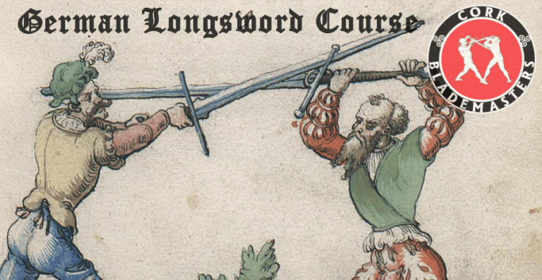 German Longsword Course 7/10 – Mon 19/11/2018