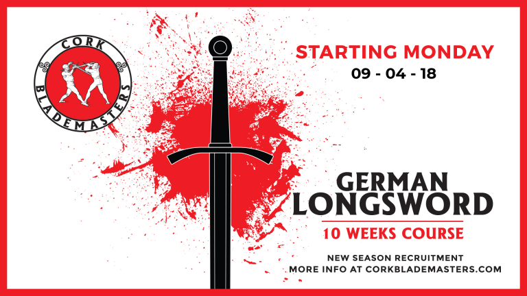 German Longsword Course starting next Monday!
