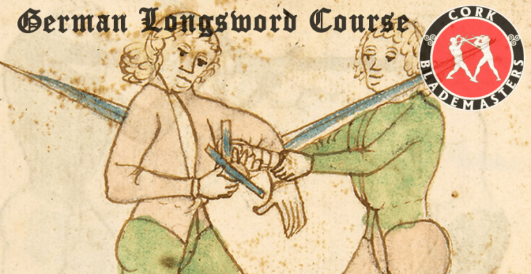 German Longsword Course 8/10 – Mon 04/03/2019