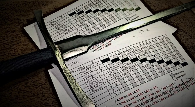 Blademasters League: Longsword Score Table – Jun 2019